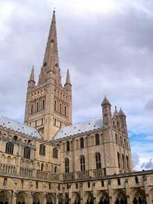 Norwich: la cathédrale
