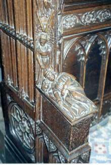 Cathédrale de Chester: les stalles