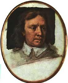 Samuel Cooper: portrait inachevé d'Oliver Cromwell