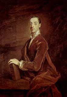 Sir Godfrey Kneller: portrait de Matthew Prior. 1700