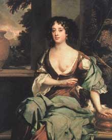 Portrait de Margaret Hughes, maîtresse du Prince Rupert. Vers 1670. Huile sur toile. Londres, Tate Gallery