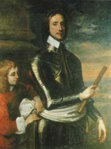 Robert Walker: Olivier Cromwell. 1650. Londres, National portrait Gallery