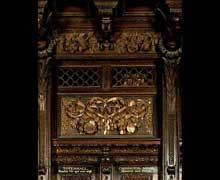 Grinling Gibbons: stalle du chœur de Saint Paul de Londres