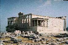 Athènes, Acropole: l'Erechteion. (Art grec)
