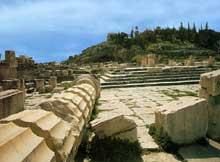 Eleusis: le Télestérion. (Art grec)