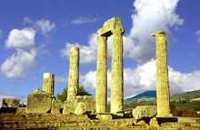 Némée: le temple de Zeus, par Scopas de Paros. (Art grec)