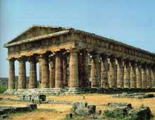 Paestum: temple de Poséidon ou Héra II. (Art grec)