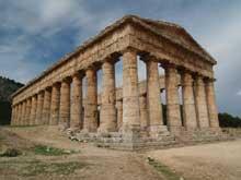 Ségeste: le temple. (Art grec)