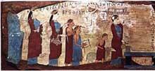 Grèce: grotte des Nymphes de Pitsa, près de Corinthe. Période archaïque, vers 540  (Art grec)