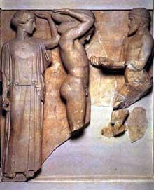 Art histoire g n rale de l art grec - Les pommes d or du jardin des hesperides ...