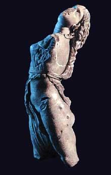 Scopas de Paros: Ménade. Musée de Dresde. (Art grec)