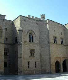 Ile de Rhodes: le palais gothique du «Grand maître»