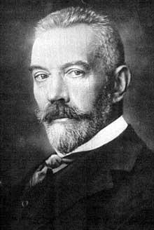 Theobald von Bethmann Hollweg, chancelier allemand de 1909 à 1917