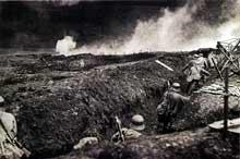 Offensive allemande à Verdun