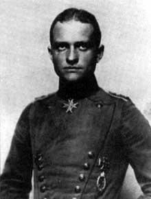 Manfred von Richthofen, dit « le Baron rouge »