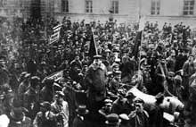8 novembre 1918 : à Munich, Kurt Eisner proclame la république des soviets
