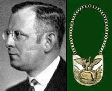 Franz Seldte et l'emblème du Stahlhelm