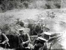 Soldats britanniques aux Dardanelles en 1915