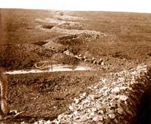 Les tranchées de Verdun