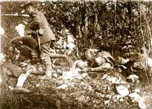Verdun. Ligne allemande