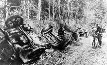 Retraite allemande de la Marne vers l'Aisne en 1914