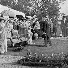 La visite du Président Poincaré au Tsar de Russie renforce l'alliance des deux puissances à la veille de la guerre