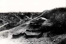 Le fort de Vaux aux mains des Allemands. 6 juin 1916