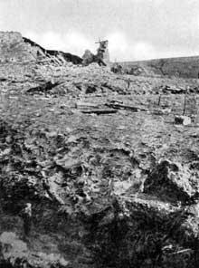 Verdun : spectacle lunaire autour de Douaumont