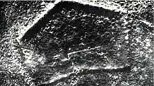 Verdun : vue aérienne du fort de Douaumont en novembre 1916