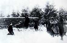 Verdun : exécution d'un mutin. Pour l'exemple