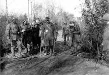 Bataille de Vittorio Veneto : prisonniers autrichiens