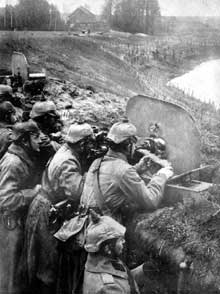 Bataille des Lacs Masures : une nouvelle défaite pour l'armée russe du tzar