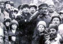 Lénine et Trotski, les artisans de la « Révolution d'Octobre »