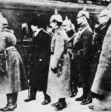 27 décembre 1917 : Trotski arrive à Brest Litovsk