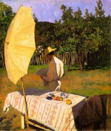 Karoly Ferenczy (1862-1917) : octobre. 1903. Huile sur toile. Budapest, Galerie nationale