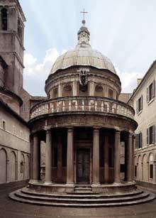 Donato Bramante (1444-1514): Rome, le tempietto, San Pietro in Montorio. 1502