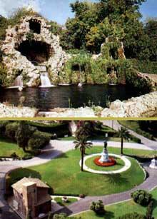 Donato Bramante: les jardins du Belvédère au Vatican
