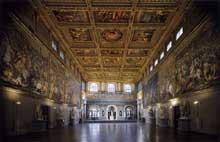 Giorgio Vasari: intérieur du palais de la Seigneurie à Florence, 1565