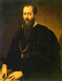 Giorgio Vasari (1511-1574) autoportrait. Huile sur toile. Florence, galerie des Offices