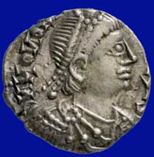 Monnaie à l'effigie de Genséric