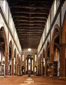 Florence: Santa Croce. La façade
