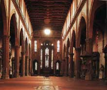 Florence: Santa Croce. La nef