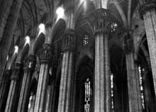 Milan: le «Dôme». Le chœur