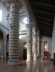 Orvieto: le dôme, l'intérieur