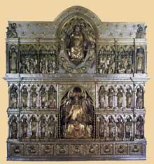 Andrea di Jacopo d'Ognabene (1286-1317?): autel en argent de l'église saint Jacques de Pistoia