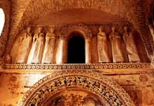 Cividale del Friuli: oratoire de Santa Maria in Valle dit «Tempietto longobardo». VIIIè