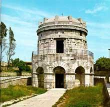 Ravenne: le mausolée de Théodoric, art Ostrogoth, Vè siècle