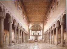 Rome. Basilique sainte Sabine. 420-430