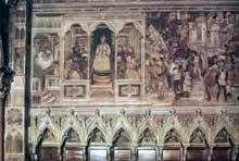 Altichiero da Zevio: scènes de la vie de saint Jacques. 1376-1379. Fresque. Padoue, chapelle saint Jacques de la basilique saint Antoine
