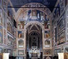 Giotto : Padoue: la chapelle Scrovegni ou Arena. 1303-1306